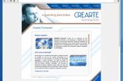 Web crearteformacion.es