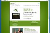 Web XXIX Semana de la Educación